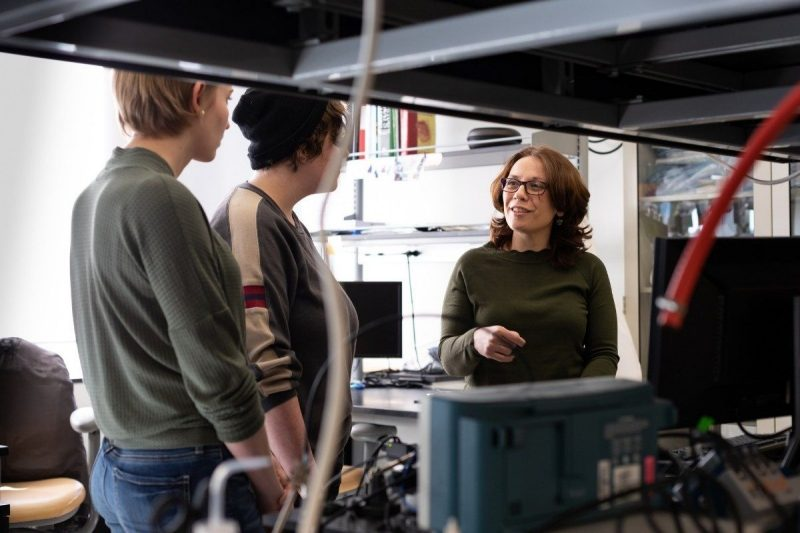 De Vita was honored by the American Society of Mechanical Engineers for her significant contributions as an internationally recognized expert in biomechanics. Photo credit: Emily Roediger, Virginia Tech.